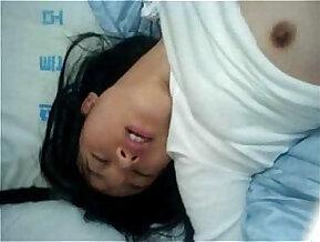 Perverted Korean girl grinds