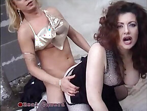 Jessica rizzo and her husband have threesome with a trans