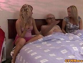 CFNM jerking loving sluts